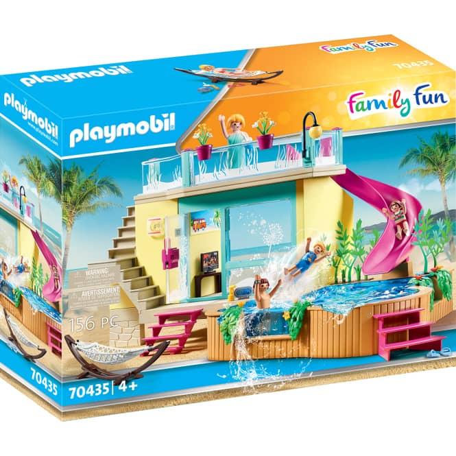 Playmobil® 70435 - Bungalow mit Pool - Playmobil® Family Fun