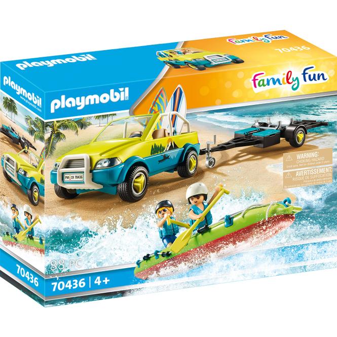 Playmobil® 70436 - Strandauto mit Kanuanhänger - Playmobil® Family Fun