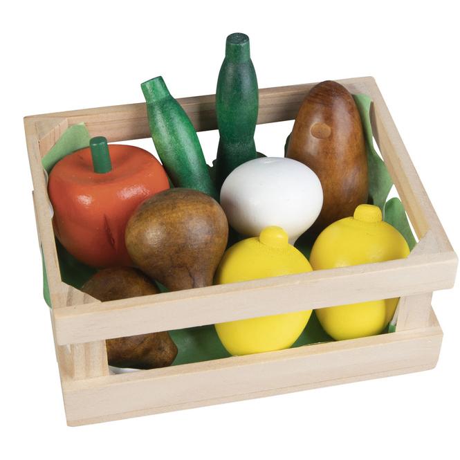 Besttoy - Holzkörbchen - Obst und Gemüse 1