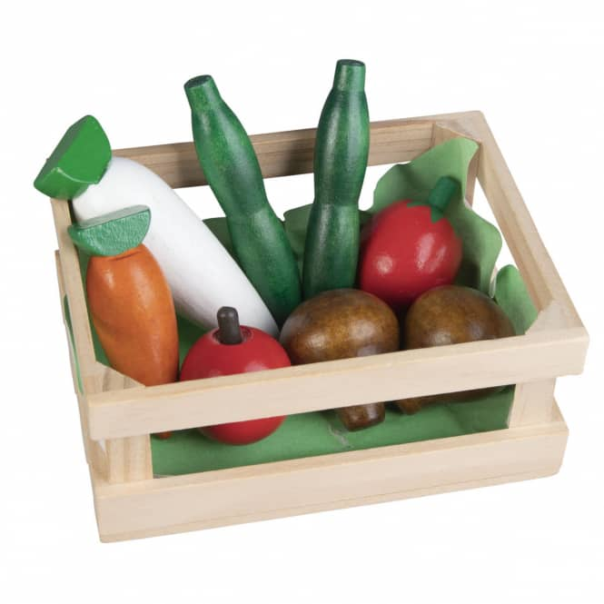 Besttoy - Holzkörbchen - Obst und Gemüse 2