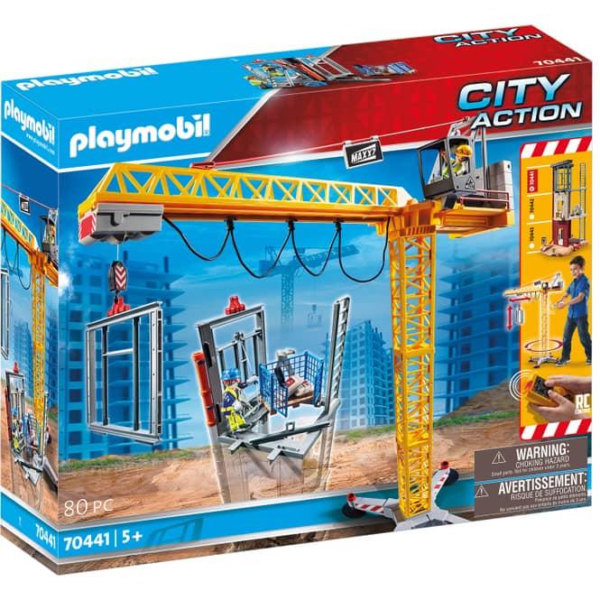 Playmobil® 70441 - RC-Baukran mit Bauteil - Playmobil® City Action