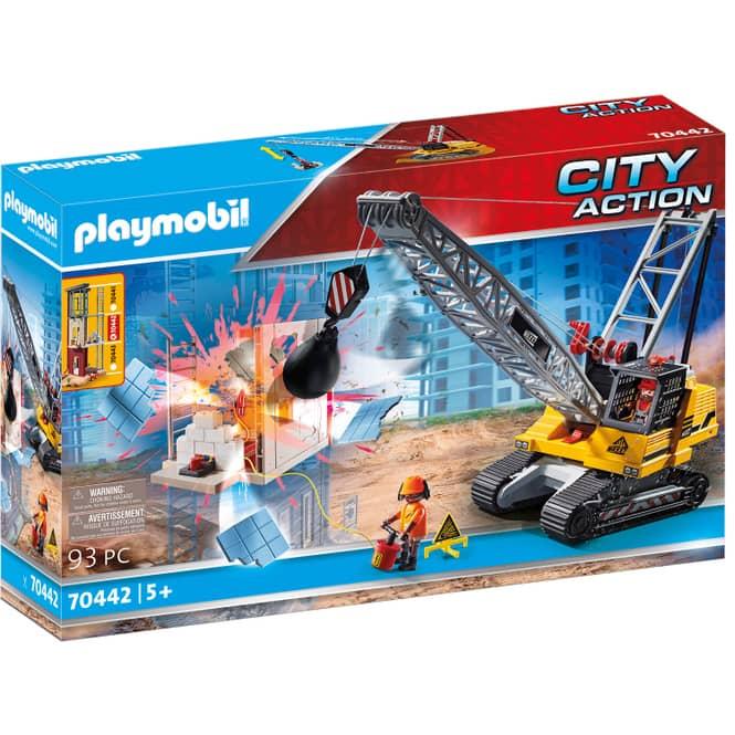 Playmobil® 70442 - Seilbagger mit Bauteil - Playmobil® City Action