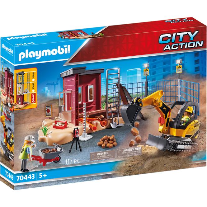 Playmobil® 70443 - Minibagger mit Bauteil - Playmobil® City Action