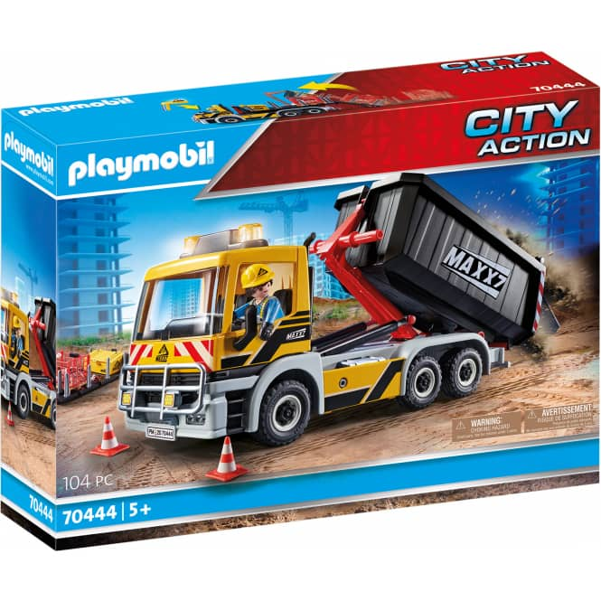 Playmobil® 70444 - LKW mit Wechselaufbau - Playmobil® City Action