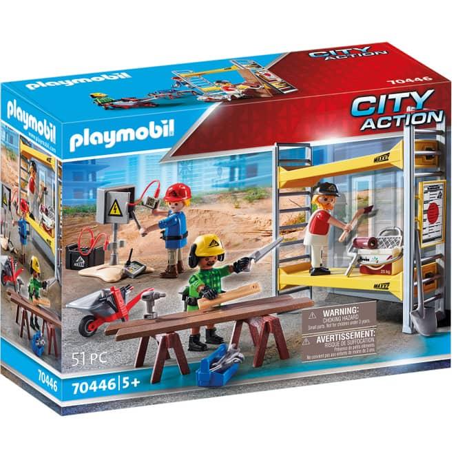 Playmobil® 70446 - Baugerüst mit Handwerkern - Playmobil® City Action