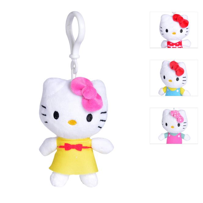 Hello Kitty - Plüsch-Schlüsselanhänger - 1 Stück