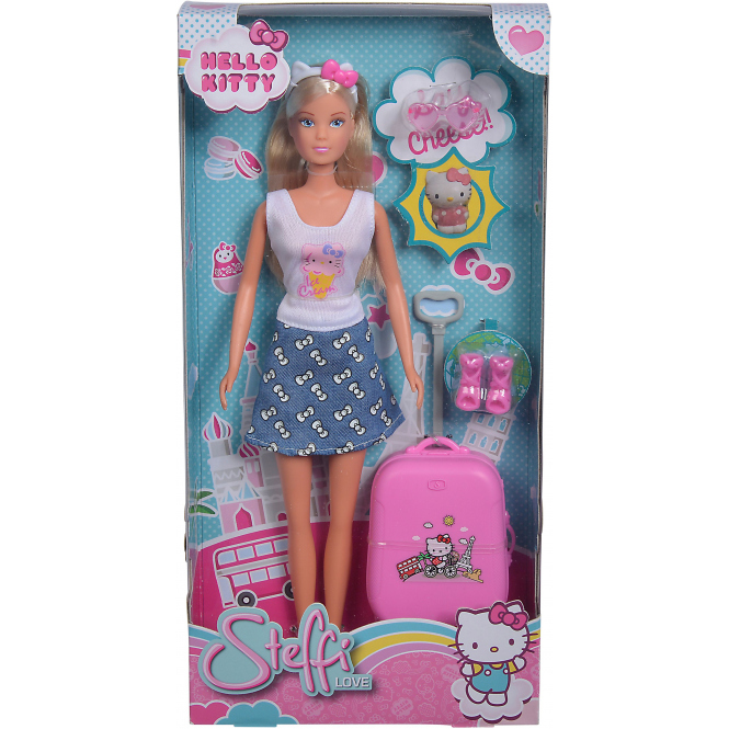 Hello Kitty - Outfit & Trolley - Steffi Love