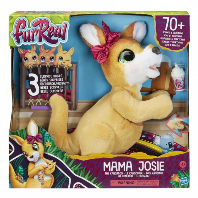 FurReal Friends - Mama Josie, das Känguru