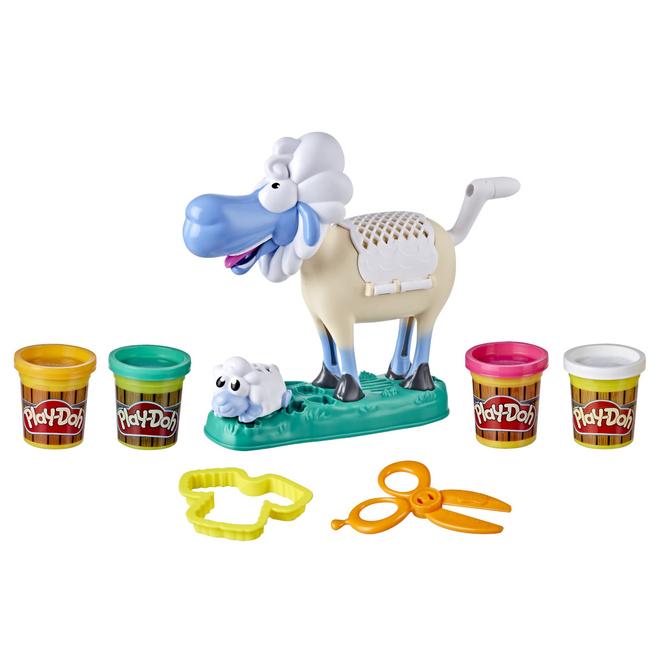 Play-Doh Animal Crew - Sherrie das Schaf - Knetset