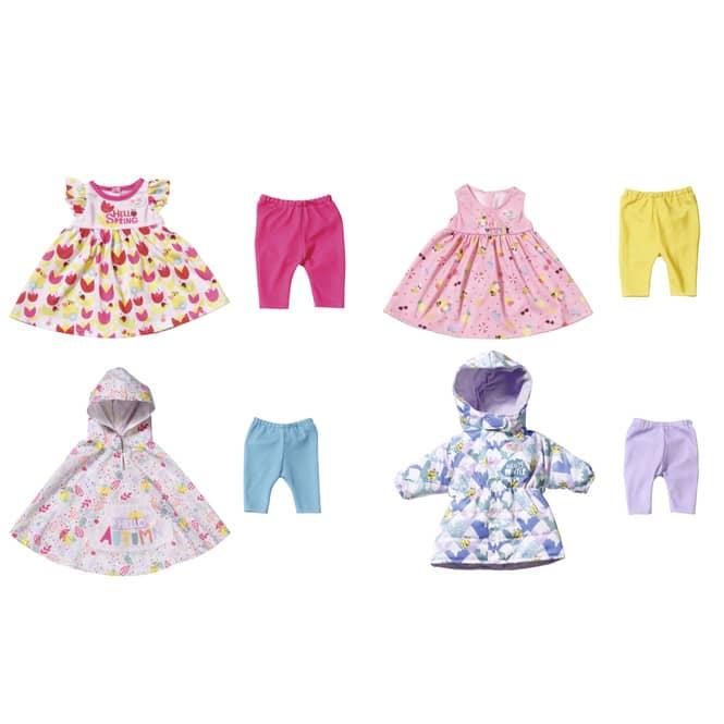 BABY born - 4 Jahreszeiten Outfit Set - 43 cm