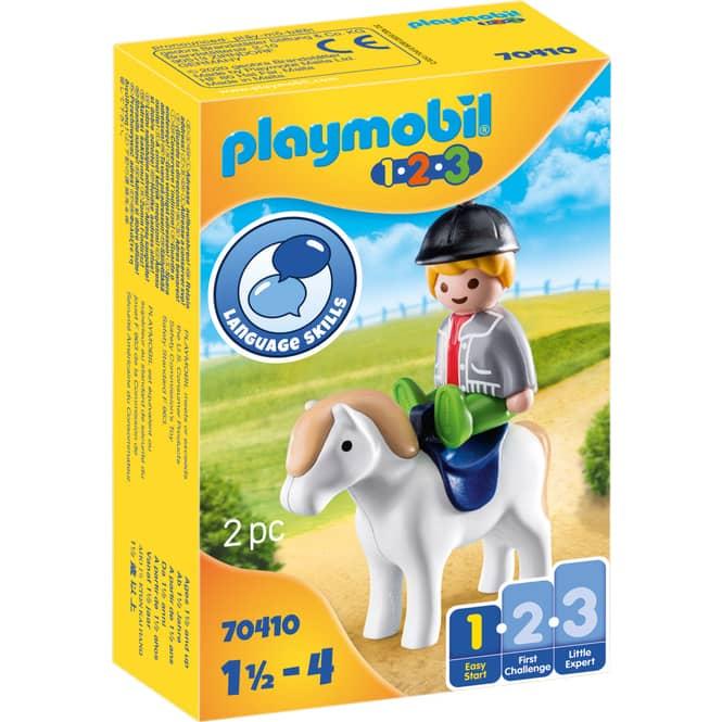 Playmobil® 70410 - Junge mit Pony - Playmobil® 1-2-3