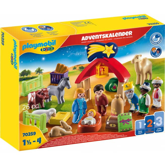 Playmobil® Adventskalender 70259 - Weihnachtskrippe