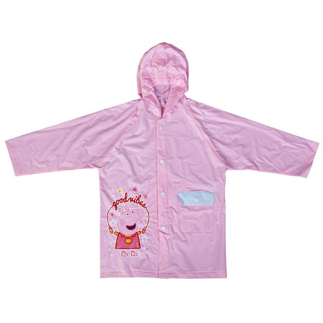 Peppa Wutz - Kinder Regenjacke - rosa - Gr. 104/110