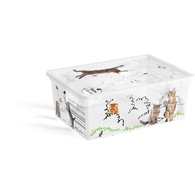 Aufbewahrungsbox - Tiermotiv - 11 L