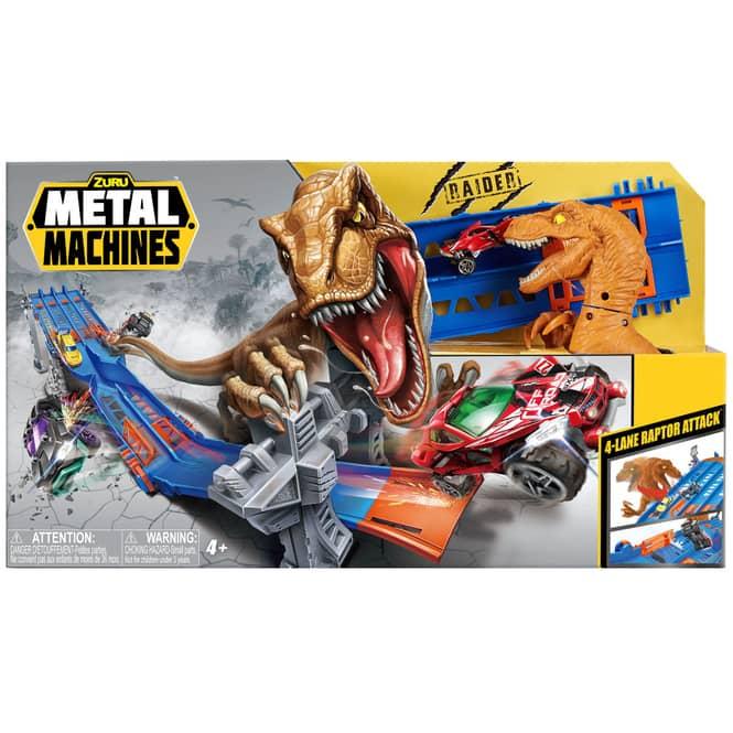 Zuru Metal Machines Rennbahn - 4-Lane Raptor Attack
