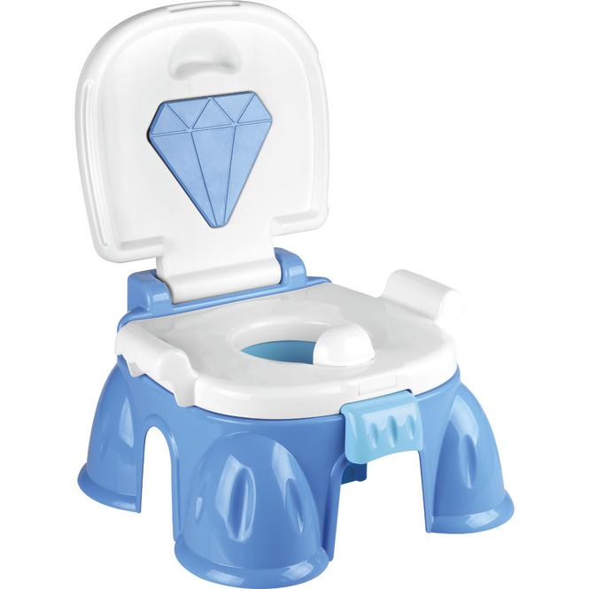 MICA - Baby Toilette mit Musik - blau
