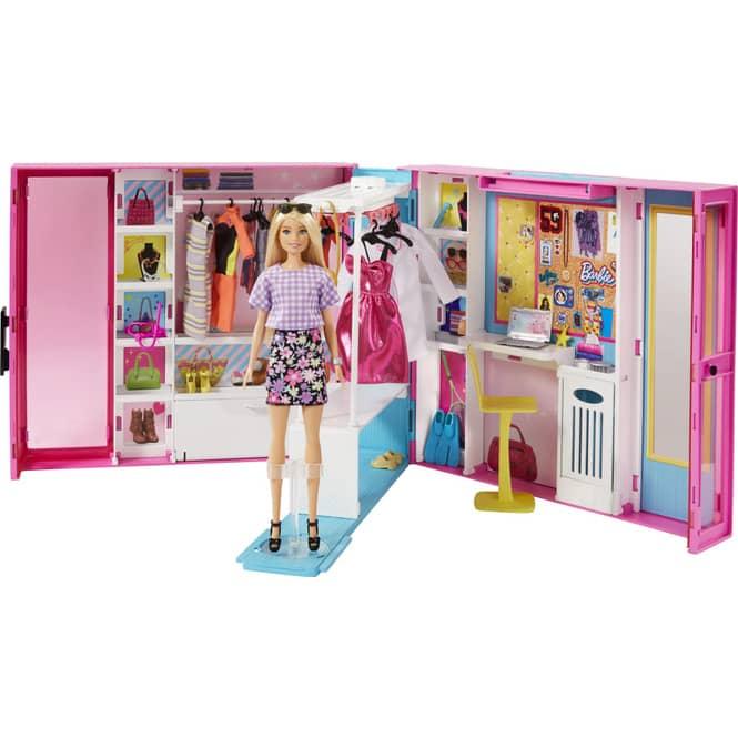 Barbie Fashionistas - Traum-Kleiderschrank