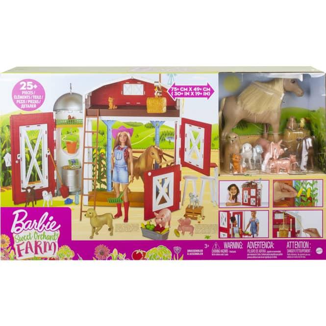 Barbie - Spaß auf dem Bauernhof - Farm Spielset