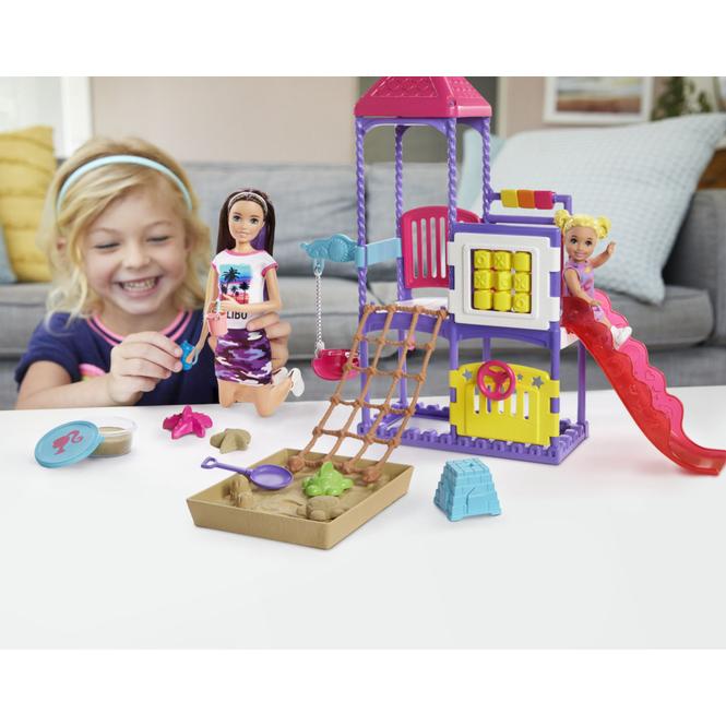 Barbie - Skipper Babysitters - Playground Spielset