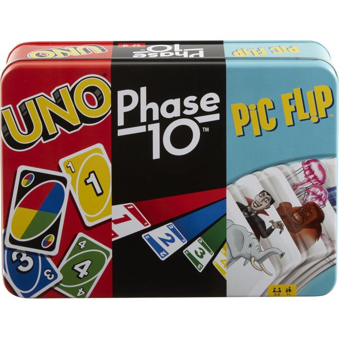 Kartenspiel-Klassiker in Dose - Mattel