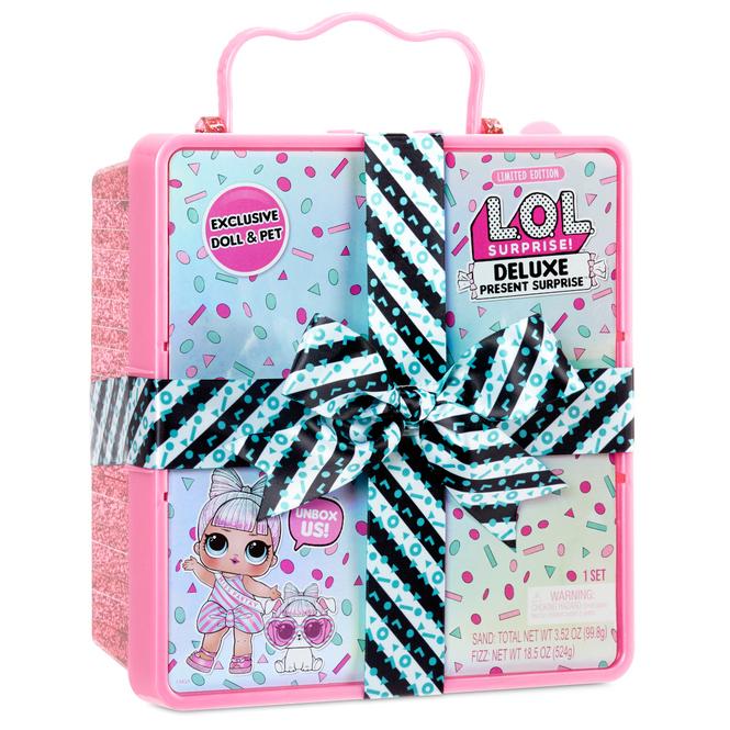 L.O.L. Surprise - Deluxe Present Surprise-Pink - 1 Stück