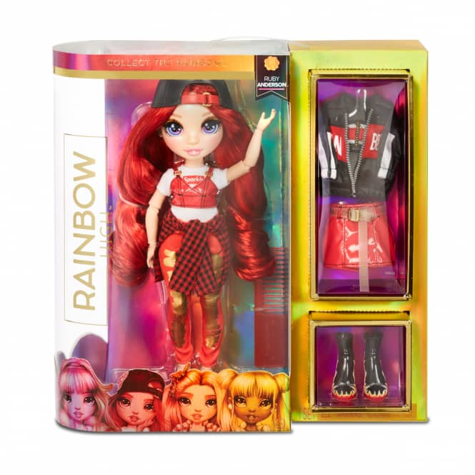 Rainbow High - Fashion Puppe - Ruby Anderson
