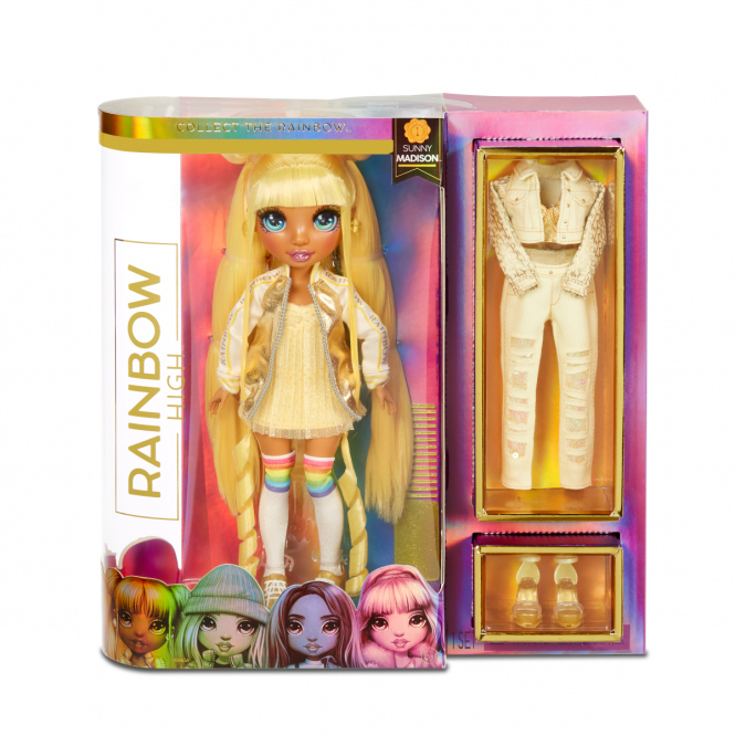 Rainbow High - Fashion Puppe - Sunny Madison
