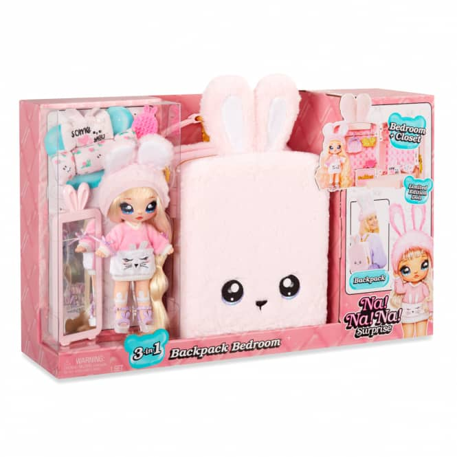 Na! Na! Na! Surprise - 3-in-1 Spielset - Schlafzimmer rosa