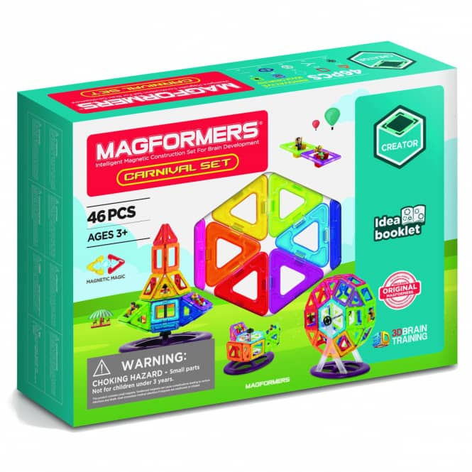 MAGFORMERS - Carnival Set 46- Magnetspielzeug - 46 Teile