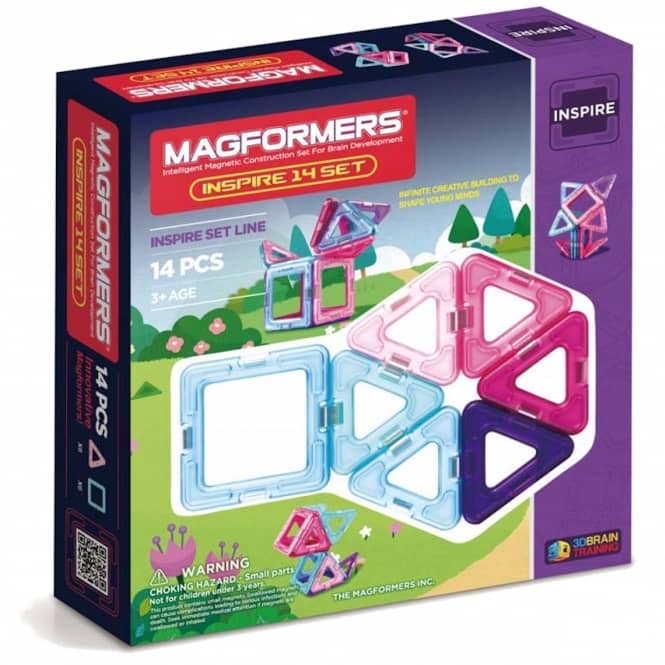 MAGFORMERS - Inspire Set 14 - Magnetspielzeug - 14 Teile