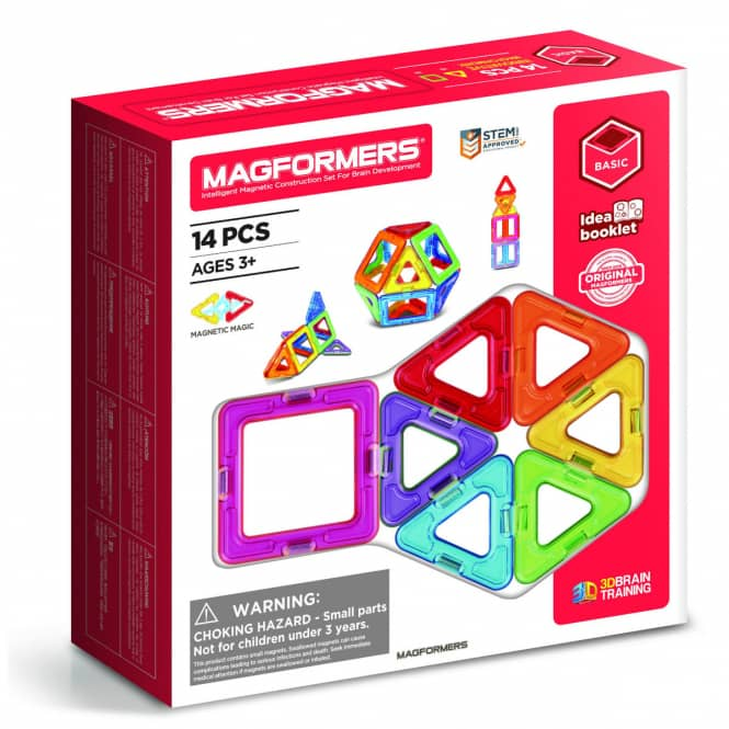 MAGFORMERS - Magformers 14 - Magnetspielzeug - 14 Teile
