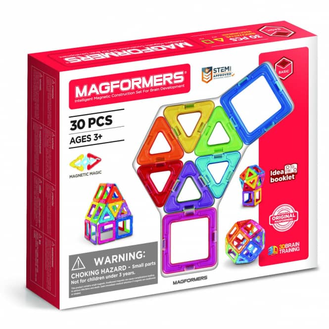 MAGFORMERS - Magformers 30 - Magnetspielzeug - 30 Teile