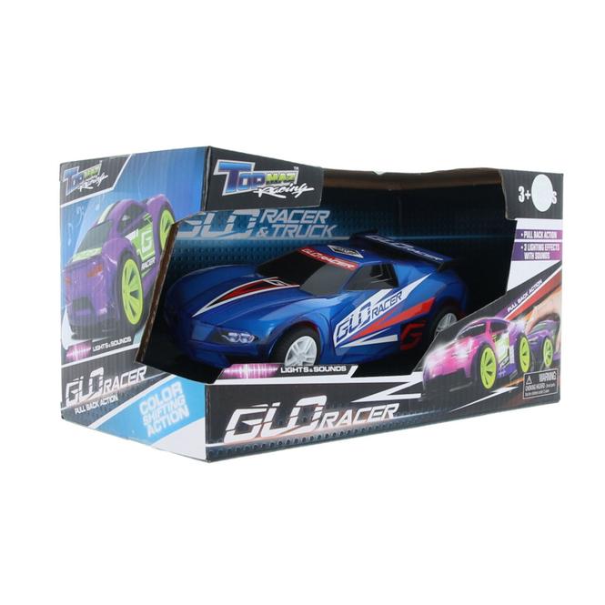Glo Racer - Modellfahrzeug -  mit Rückzugsmotor - 1 Stück