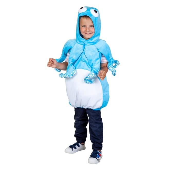 Kostüm - Kleiner Oktopus - für Kinder - Größe 98/104