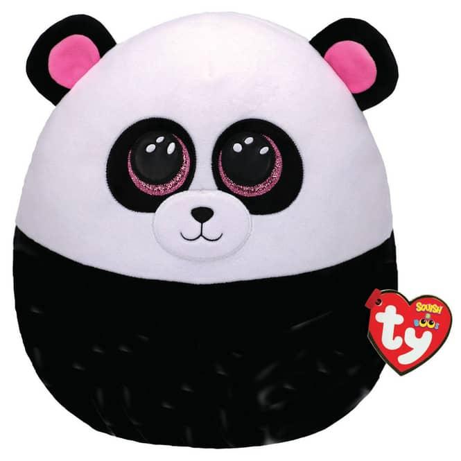 Squish a Boo - Plüsch Kissen - Panda Bamboo - ca. 30 cm - Ty