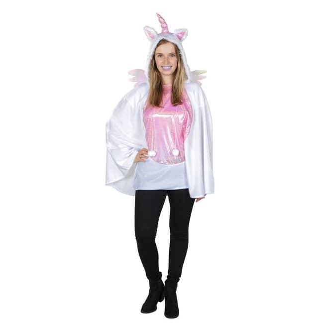 Kostüm - Einhorn - für Erwachsene - Einheitsgröße