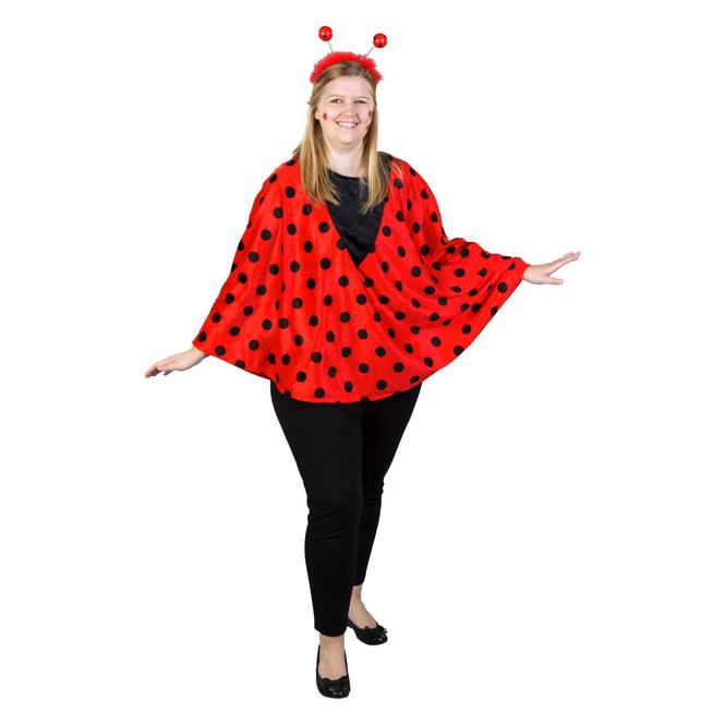 Kostüm - Marienkäfer - für Erwachsene - Einheitsgröße