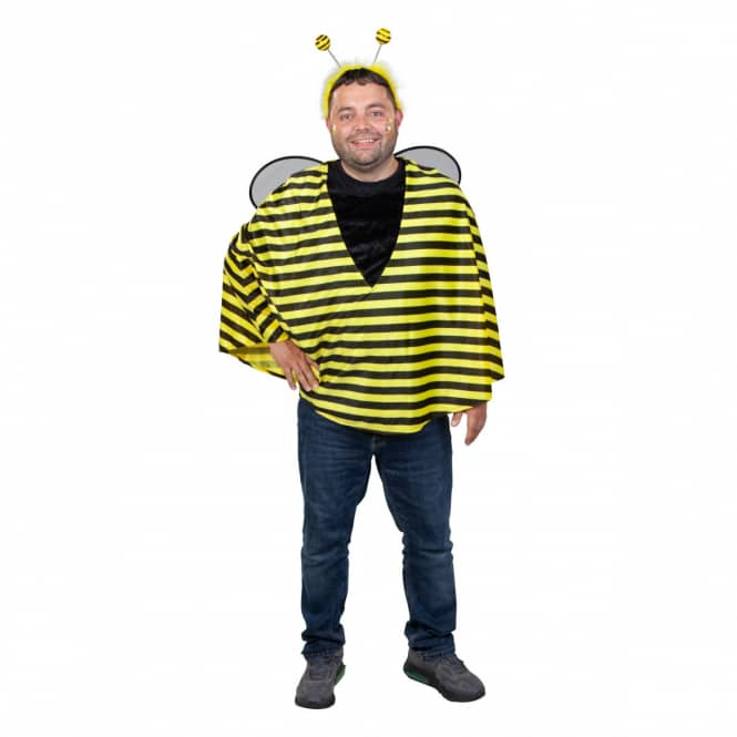 Kostüm - Biene - für Erwachsene - Einheitsgröße