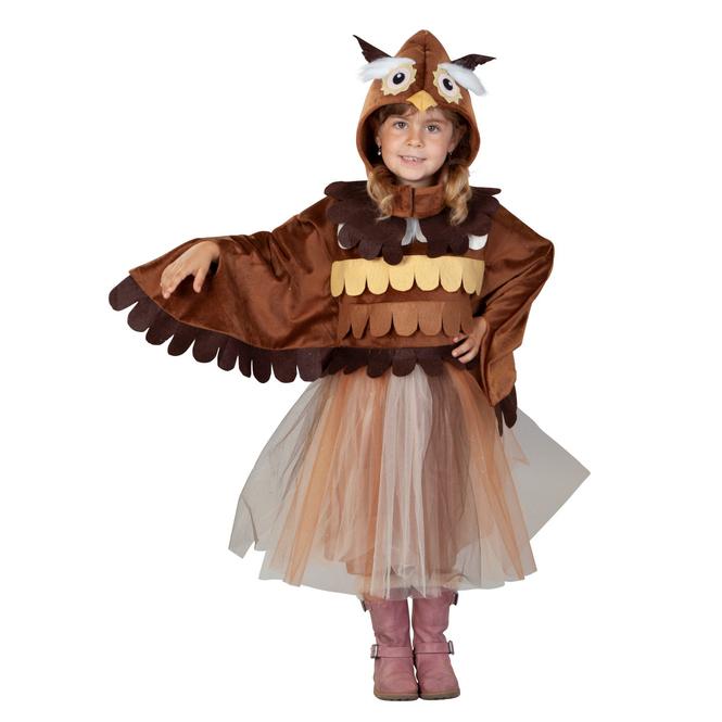 Kostüm - Kleine Eule - für Kinder - Größe 98/104