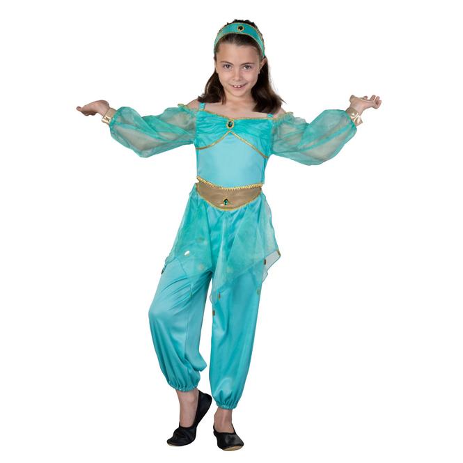 Kostüm - Wüstenprinzessin - für Kinder - 2-teilig - verschiedene Größen
