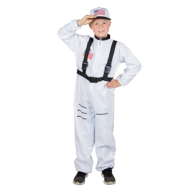 Kostüm - Astronautenjunge - für Kinder - 2-teilig - Größe 146/152