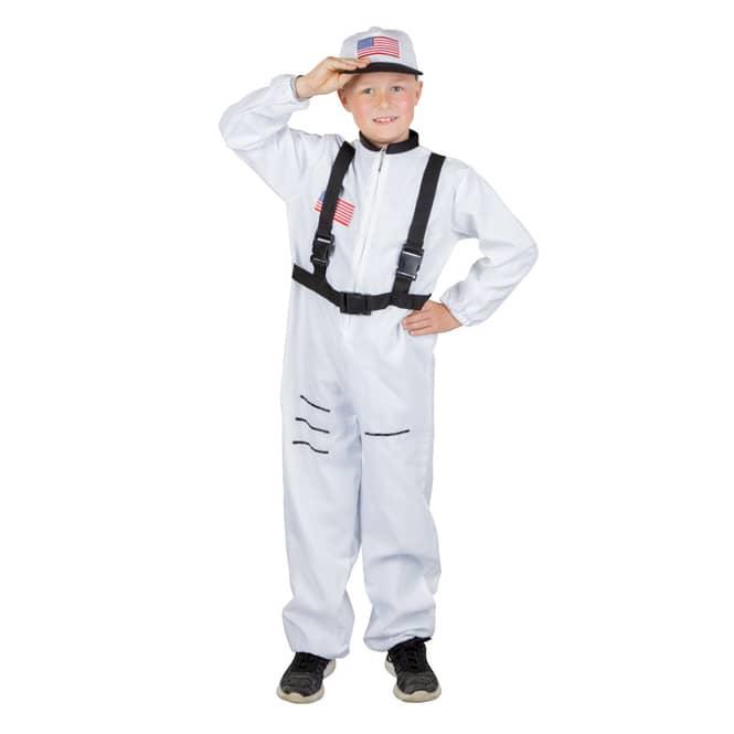 Kostüm - Astronautenjunge - für Kinder - 2-teilig - verschiedene Größen