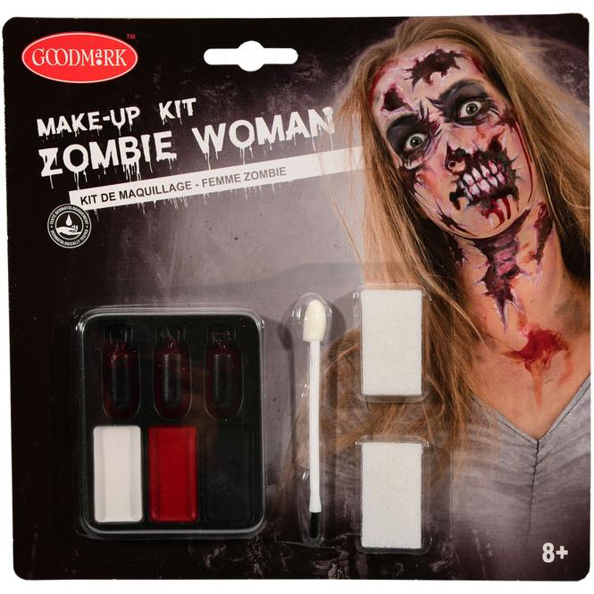 Schminkset - Zombie - Make-up mit Zubehör