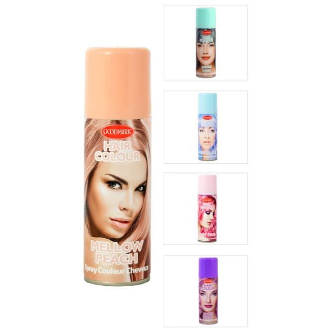 Color-Haarspray - Pastell - 125 ml - verschiedene Farben