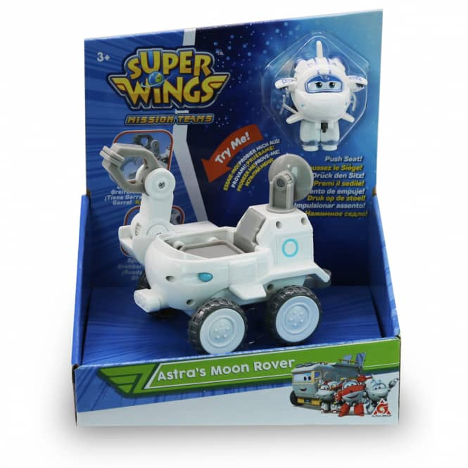 Super Wings - Astra's Moon Rover - ca. 7,5 cm