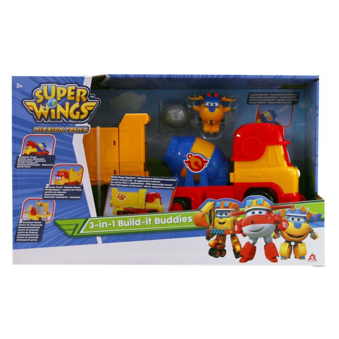 Super Wings - Spielset - 3-in-1 Build-it Buddies