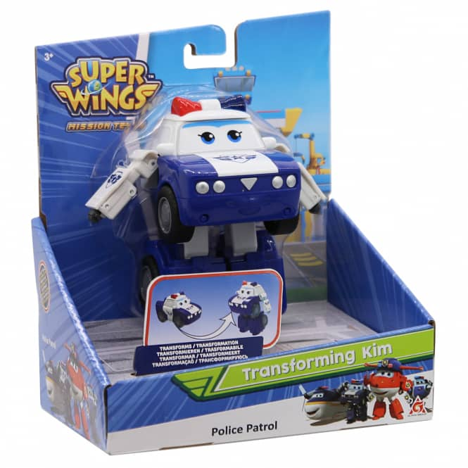 Super Wings - Transforming Kim - ca. 12 cm