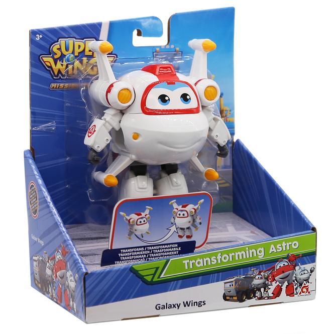 Super Wings - Transforming Astro - ca. 12 cm