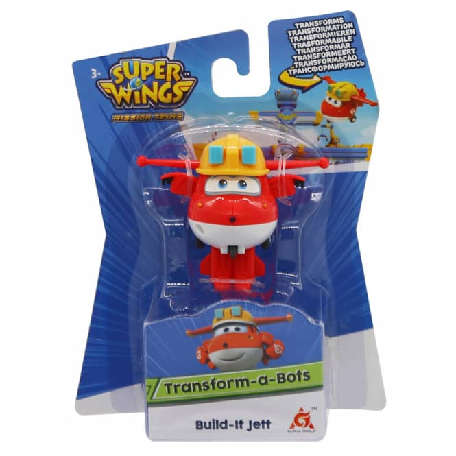 Super Wings - Transform-a-Bots - Build-it Jett