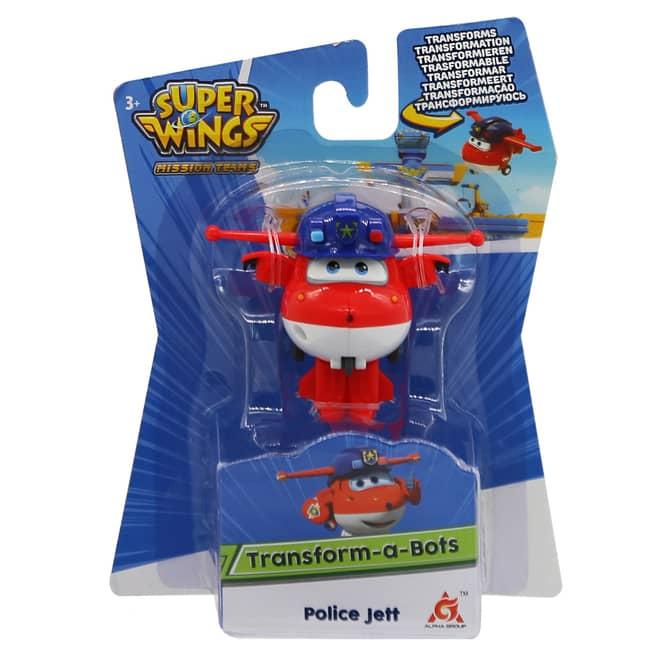 Super Wings - Transform-a-Bots - Police Jett
